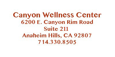 Canyon Wellness Center Anaheim Hills