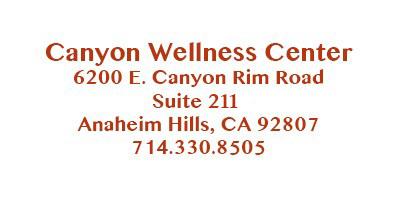Canyon Wellness Center Anaheim Hills